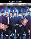 Now You See Me 2  (4K Ultra HD Blu-ray/Blu-ray/Digital HD) With Slipcover..