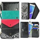 blackberry smart card - Women's Cute Wristlet Strap Clutch Card Wallet Case Cover for Smart Cell Phone
