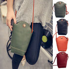 Women Leather Shoulder Bags Small Cross Body Handbag Messenger Tote Bags Purses