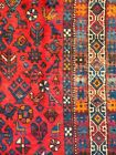 Cr.1920 Afshar Antique Persian Exquisite Hand Made Rug 4' 8
