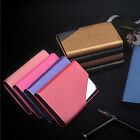 Business Stainless Steel ID Credit Card Case Slim Holder Wallet Pocket Box Purse