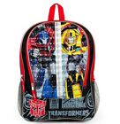 "TRANSFORMERS AUTOBOTS 16"" Full-Size Boys Backpack w/Optional Insulated Lunch Box"
