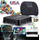 Android 6.0 Smart TV Box 4K S905x UHD Quad Core KD 17.1  Mini I8 Keyboard