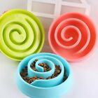 1 Hot Pet Puppy Cat Food Bowl Plastic Slow Eating Healthy Puzzle Trainning Bowl