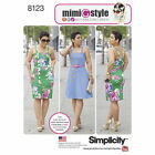 Simplicity 8123 Sewing Pattern Mimi G Style Dress Misses 10-18 Plus 20W-28W
