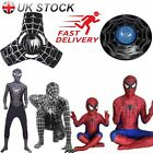 Spiderman Costume Adult Boys Kids Suit Clothes Cosplay Party Halloween Props Lot