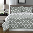 Meridian 100% Egyptian Cotton Duvet Cover Set - Gray
