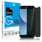 For Samsung Galaxy J7 V/Prime/Sky Pro Anti-Spy Tempered Glass Screen Protector