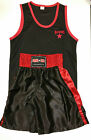 Boxing shorts set Black & Red