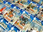STAR WARS SAGA 2002 (BLUE) CARDED FIGURES - MOC - SEE PHOTOS! (A) £9.99 GBP