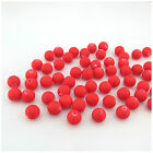 NEW IN 80PCS X 6MM OR 50PCS X 8MM RED ROUND ACRYLIC BEADS FOR JEWELLERY MAKING