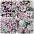 Berties Beads Pink Spring Bead Mix Jewellery Bracelet Making Mixes Joblot