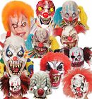 Adult Evil Circus Clown Mask Halloween Fancy Dress Costume Cosplay