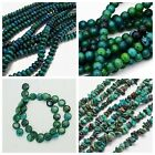 Natural Chrysocolla Bead Beads Gemstones Chips Strands