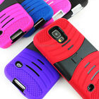 For Samsung Galaxy S5 Hybrid Hard Shockproof Skin Curve Kickstand Case Cover
