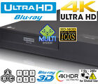 NEW LG UBK 90 Region Free Blu Ray Player 4k UHD HDR10 All Zone Multi Code
