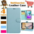 Leather Wallet Stand Folio Flip LSP Case Cover For Samsung Galaxy S8 / SM-G950