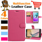 Leather Wallet Stand Folio Flip LSP Case Cover Skin For Samsung Galaxy J7 2017