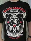 BLACK SABBATH THE END WORLD TOUR T SHIRT