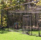 Baseball Softball Batting Cage Frame Net FREE! Pitcher's L-Screen [all sizes]