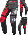Fly F-16 Pants 370-932 Red/Black /Gray
