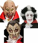 Adult Vampire Dracula Scary Zombie Sweeny Tod Mask Halloween Fancy Dress Costume
