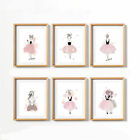 Lovely Girls Art Canvas Print Poster Wall Stickers Decor No Frame Living Room