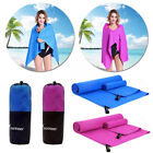 Microfiber Extra Large Bath Towel Sheet Towel Fast Drying Swimming Camping Bath image