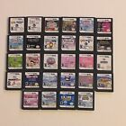 You Pick Choose Nintendo DS Game 5.88 Free Shipping Boys Girls Kids Game Only