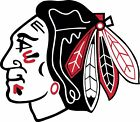 Chicago Blackhawks Vinyl Sticker Decal SIZES Crawford Mask Wall Bumper Cornhole $22.99 USD on eBay