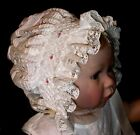 NEW Smocked Baby's Bonnet - Anna Marie _ From Premie to 18 mths