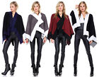 Women's Poncho Batwing Style Knit Top Cardigan V-NECK Sweater Cape Coat Outwear