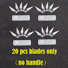 Exacto Knife Style +25pcs Blades #11 x-acto Hobby Multi tool Crafts Cutting NEW