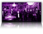 50 YEARS OF JAMES BOND 007  - GICLEE CANVAS ART *Choose your size