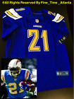 """HTF! NEW LaDainian Tomlinson Chargers Men's Electric Blue """"Color Rush"""" Jersey $89.88 USD"""