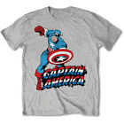 Captain America T-Shirt. Marvel Comics Avengers Great Gift for any Fan