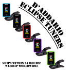**D'ADDARIO ALL INSTRUMENT ECLIPSE TUNER CT-17 - GUITAR  BASS  UKULELE  & MORE**