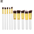 New 10pcs cosmetic makeup  Eyeshadow Lip Brush Tool brushes set Powder Fundation