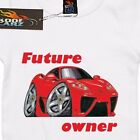 Baby, Mini me one piece AS Colour, Future Ferrari owner car, Baby grow jump suit