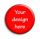 1 Inch/25mm BUTTON BADGES  DESIGN YOUR OWN  1/5/10/25/50/100  BAND MERCHANDISE