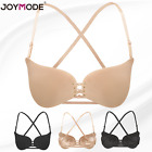 Invisible Strap Push-Up Backless Self-Adhesive Invisible Butterfly Shape Bra