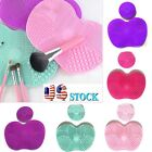 Silicone Makeup Brush Cleaner Pad Washing Scrubber Board Big Cleaning Mat Tool