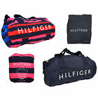 Tommy Hilfiger Duffle Small Packable Bag Mens Womens Kids Children Unisex Travel