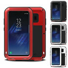 New Aluminum Metal Shockproof Gorilla Glass Case Cover Fit For Samsung Galaxy S8