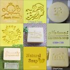 """1pc small cute butterfly Handmade Resin Soap Stamp Seal Soap Mold 0.75""""x0.75"""" YZ"""