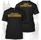 New PUBG Playerunknown's Battlegrounds Custom Text Perzonalized Tee/TShirt/Shirt