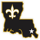 New Orleans Saints Logo Vinyl Sticker Decal *SIZES* Cornhole Wall Bumper Car $22.99 USD on eBay