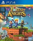 Portal Knights: Gold Throne Edition *Brand New* PS4 (Sony PlayStation 4, 2017)