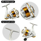 12BB Ball Bearing Saltwater Freshwater Fishing Spinning Reel 5.5:1 Safety
