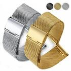 Watch Strap Loop Wrist Band For Samsung Gear S3 S2 Stainless Steel Gift DF